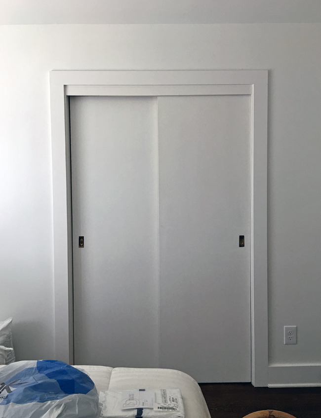 Before image of Closet Doors at ProjectFamJam by Hunted Interior