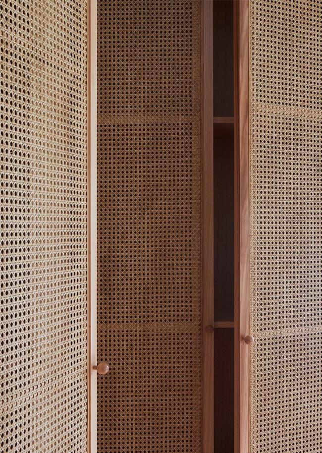 Cane Closet Doors Hunted Interior
